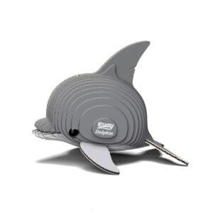3D cardboard model dolphin