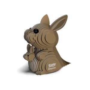 3D cardboard model kangaroo