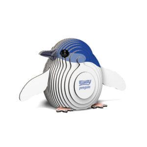 3D cardboard model penguin