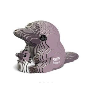 3D cardboard model platypus