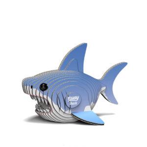 3D cardboard model shark