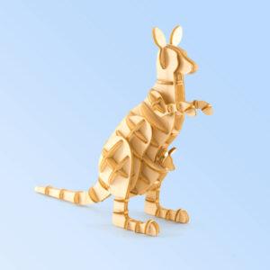 Wooden Kangaroo model
