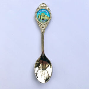 Souvenir spoon with Flinders Street Station crest
