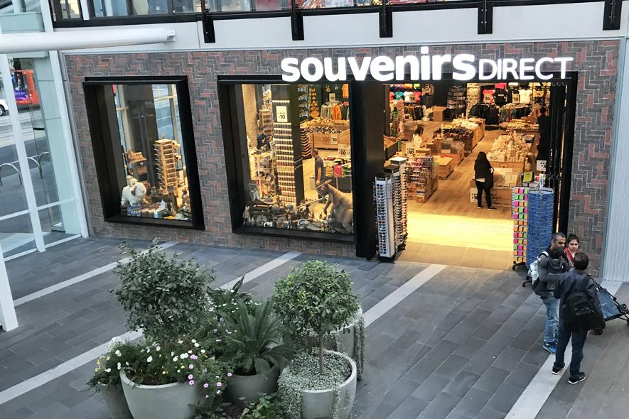 Melbourne Docklands Store front
