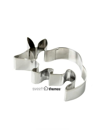 Bilby shaped metal cookie cutter