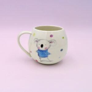 Barney Gumnut china mug. Barney Gumnut the koala is on this mug.