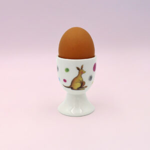 Barney Gumnut china egg cup. Hoppity Kangaroo is on this egg cup.