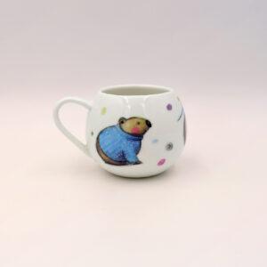 Barney Gumnut china mug. Robert the Wombat is on this mug.