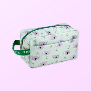 Koala design large cosmetic bag