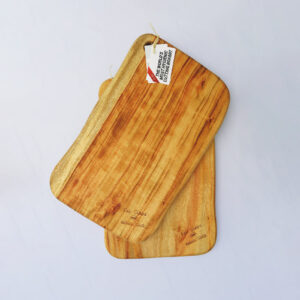 Two large wooden chopping boards