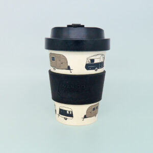 Bamboo travel mug - black