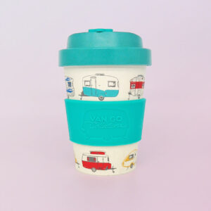 Bamboo travel mug in green