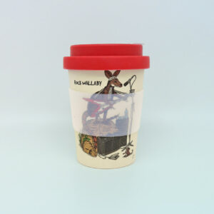 Rock Wallaby & Platypus Eco bamboo keep cup