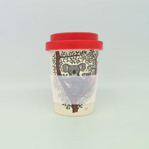 Koala & Wombat Eco bamboo keep cup