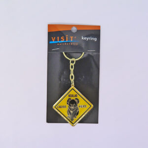 Koala Road Sign Keyring