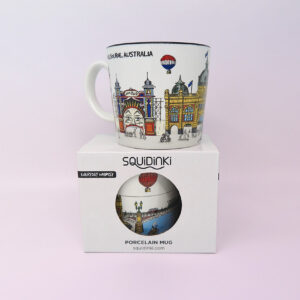 Melbourne mug and presentation box