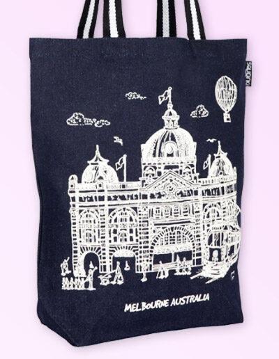 Melbourne denim tote