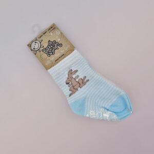 Earth Nymph baby socks blue