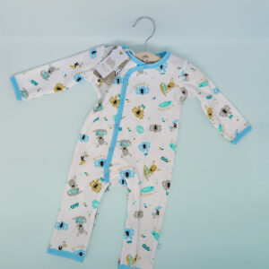 Earth Nymph baby suit blue