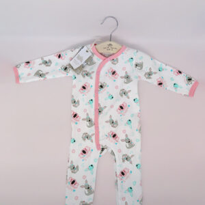 Earth Nymph baby suit pink