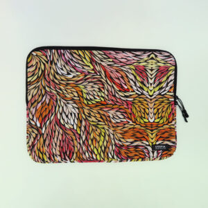 Neoprene laptop sleeve by Sacha Long