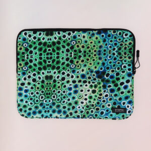 Neoprene laptop sleeve by Lena Pwerle