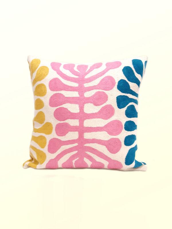 Better World Arts Wool cushion 40cm. Design by Mijtili Napurrula
