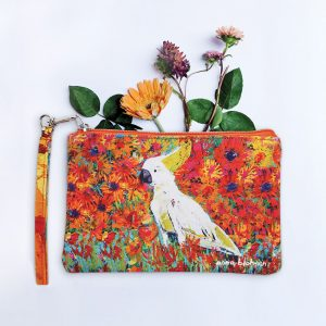 Cockatoo purse