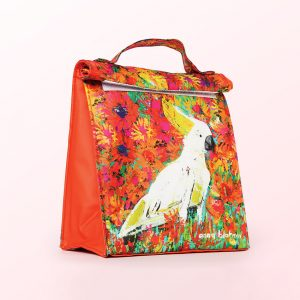 Cockatoo lunch bag