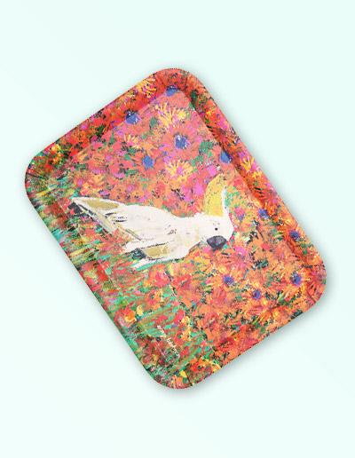 Cockatoo tray