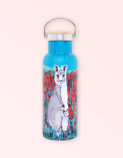 Kangaroo drink bottle