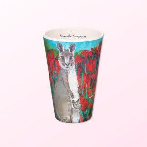 Kangaroo bamboo cup