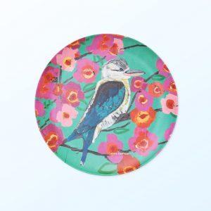 Kookaburra plate