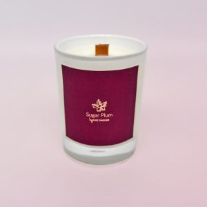Sugar Plum Small Candle