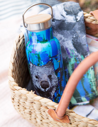 Wombat drink bottle