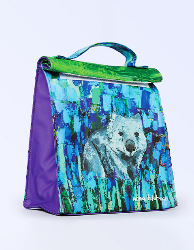 Wombat lunch bag