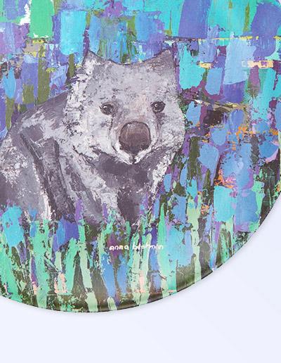 Wombat plate