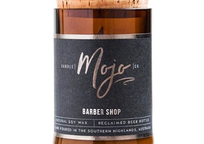 Barber Shop Mojo candle