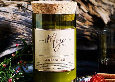 Cedar & Saffron Mojo Candle