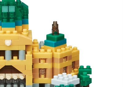 Flinders Street Station Nanoblock model