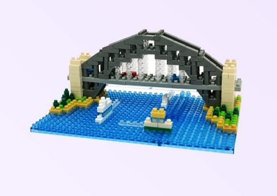 Harbour Bridge Nanoblock model