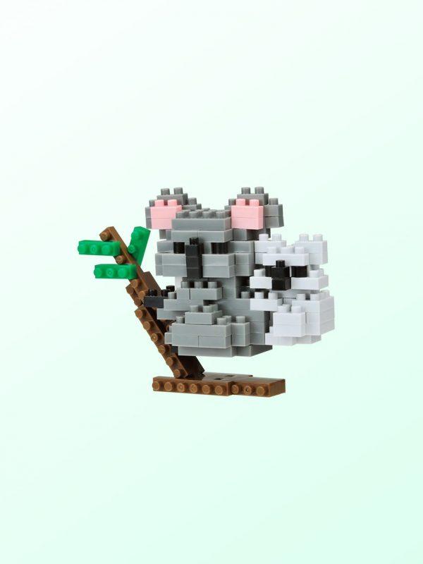 Koala & Joey Nanoblock model