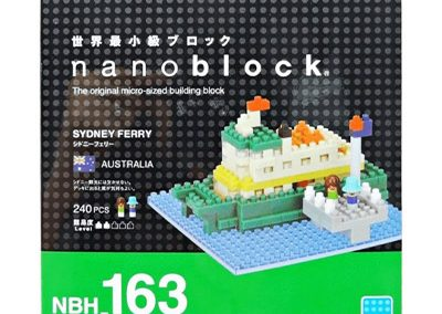 Sydney Ferry Nanoblock model box