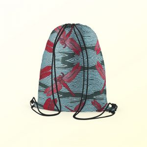 Drawstring backpack -Sheryl Burchill