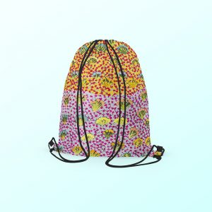 Drawstring backpack - Daisy Moss