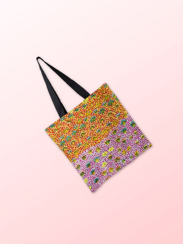 Tote with design by Daisy Moss