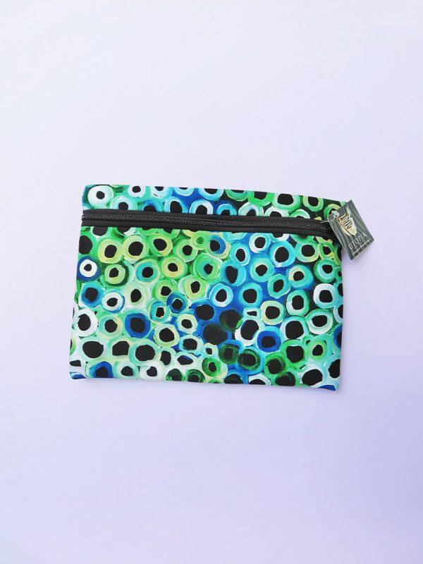 Australian Made Zipped case Indigenous art design