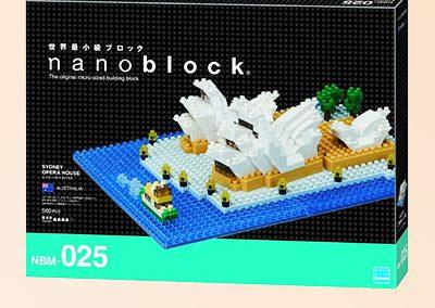 Opera House Nanoblock