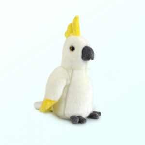 Cockatoo plush toy