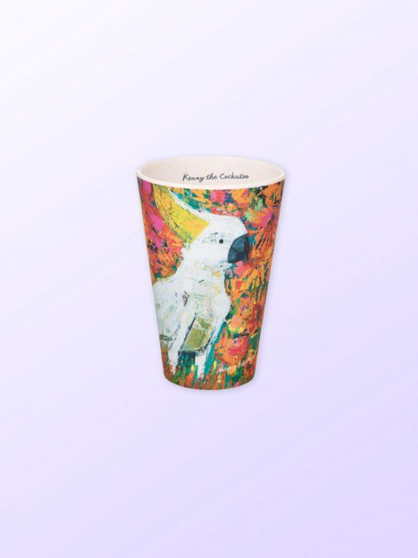 Cockatoo Bamboo cup